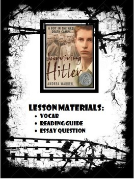 Reading Guide for Surviving Hitler: A Boy in the Nazi Death Camps