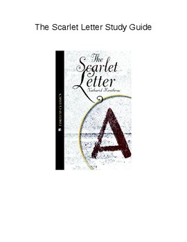 Study Guide for The Scarlet Letter (Timeless Classics)