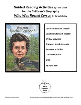 Study Guide for Who Was Rachel Carson by Sarah Fabiny