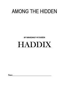 Study Guide to AMONG THE HIDDEN by Margaret Peterson HADDIX