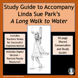 A Long Walk to Water Novel Study Guide DIGITAL REMOTE RESO