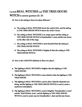 Study Guide to The Witches: A Set Of Plays adapted by David Wood
