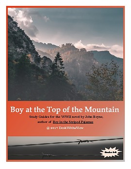 Boy at the Top of the Mountain Packet (companion to Boy in the Striped Pajamas)