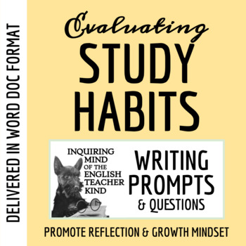 Study Habits Inventory & Analysis - Reflective Learning Activity