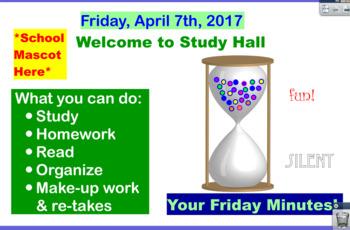 Study Hall Flipchart