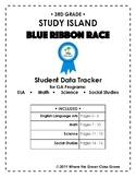 "Study Island ""Blue Ribbon Race"" Data Tracker (3rd grade: G"