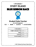 "Study Island ""Blue Ribbon Race"" Data Tracker (5th grade: G"