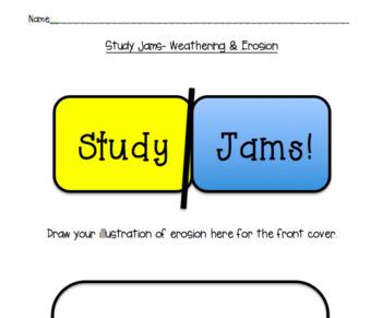 Study Jams Interactive Notebook -Adaptations