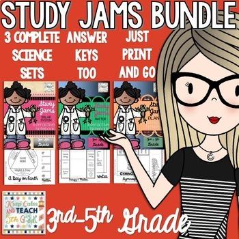 Study Jams Science Interactive Notebook Bundle - 5th Grade Science