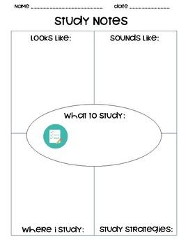 Study Notes Organizer
