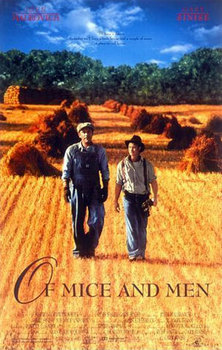 Study Questions for Of Mice and Men starring G.Sinise and J.Malkovich