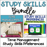 Study Skills 2-Lesson Bundle: Time Management and Study Mo