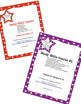 Study Skills 2 part Course Bundle