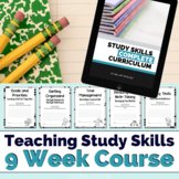 Study Skills 9 Week Course Curriculum by Midgley