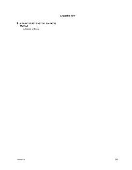 Study Skills: A Basic Study System: The SQ3R Method
