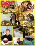 Study Skills Academic Literacy Center Grades 4-8