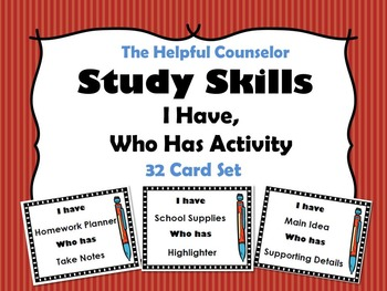 Study Skills Game and Activity Bundle