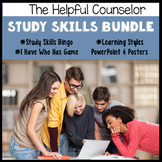 Study Skills Game and Activity Bundle #COUNSELORSBACK4SCHOOL