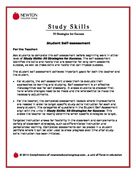 Study Skills Assessment