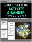 Goal Setting Activity and Banner
