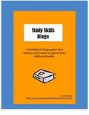 Study Skills Bingo