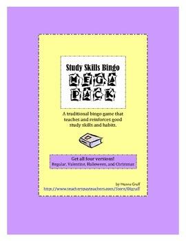 Study Skills Bingo Mega Pack