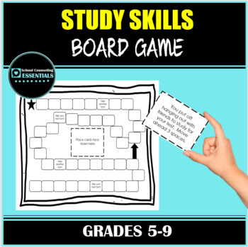 Study Skills Board Game for Middle & High School