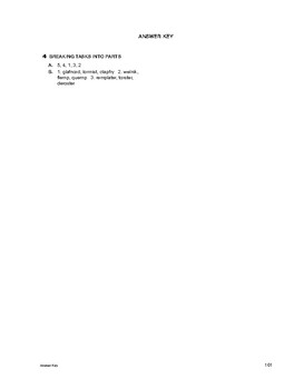 Study Skills: Breaking Tasks into Parts