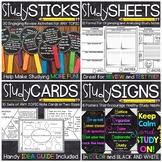 Study Skills Activities Bundle