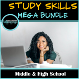 Study Skills Classroom Lesson Bundle for Middle & High School