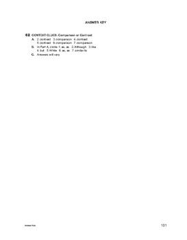 Study Skills: Context Clues: Comparison or Contrast