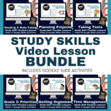 Study Skills Flexible Lesson Materials Distance Learning Bundle