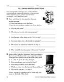 Study Skills: Following Written Directions