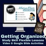 Study Skills: Getting Organized Video Lesson