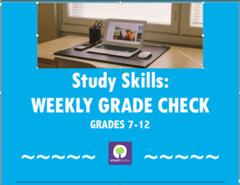 Study Skills: Grade Check Sheet
