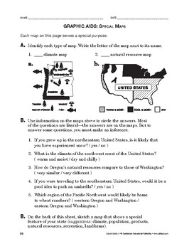 Study Skills: Graphic Aids: Special Maps
