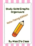 Study Skills Graphic Organizers: Note Taking Edition