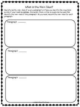 Study Skills Graphic Organizers: Reading Strategies Edition
