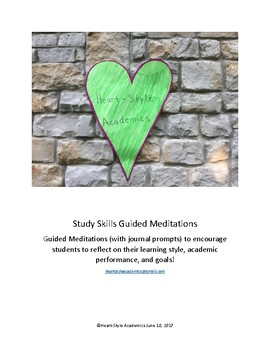 Study Skills Guided Meditation