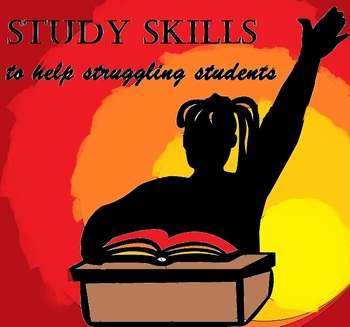 Study Skills Handouts to help Struggling Students Find Success