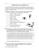 Study Skills: Identifying Your Learning Style