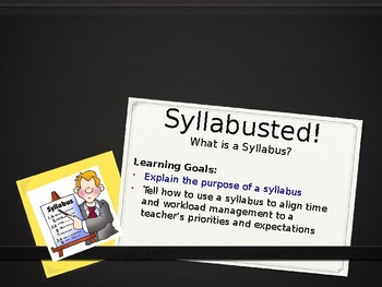 Study Skills Lesson 10 - What is a Syllabus?