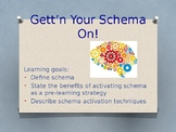 Study Skills Lesson 11 - Activating Schema and Prior Knowledge