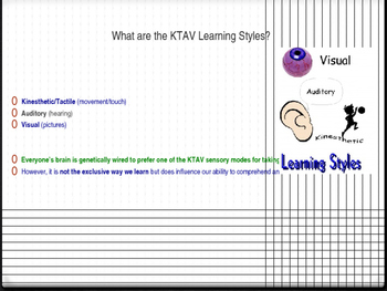 Study Skills - Lesson 5 - Learning Styles