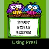 Study Skills Lesson with Prezi
