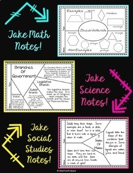 Study Skills | Note Taking Cards