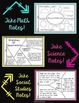 Note Taking Cards for ANY Subject!