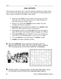 Study Skills: Oral Reports