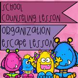 Study Skills/Organization Escape Room Classroom Lesson or Small Group Lesson