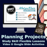 Study Skills Planning Projects Video Lesson